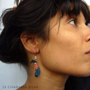 creation_bijou_oreille_lecharabiademi_Lady-orange-bleu-1